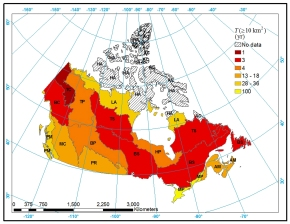 Characterization of wildfire regimes in Canadian boreal terrestrial ecosystems